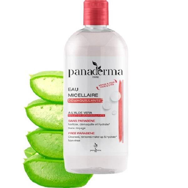 Nước tẩy trang Panaderma 500ml nắp đỏ hương nha đam