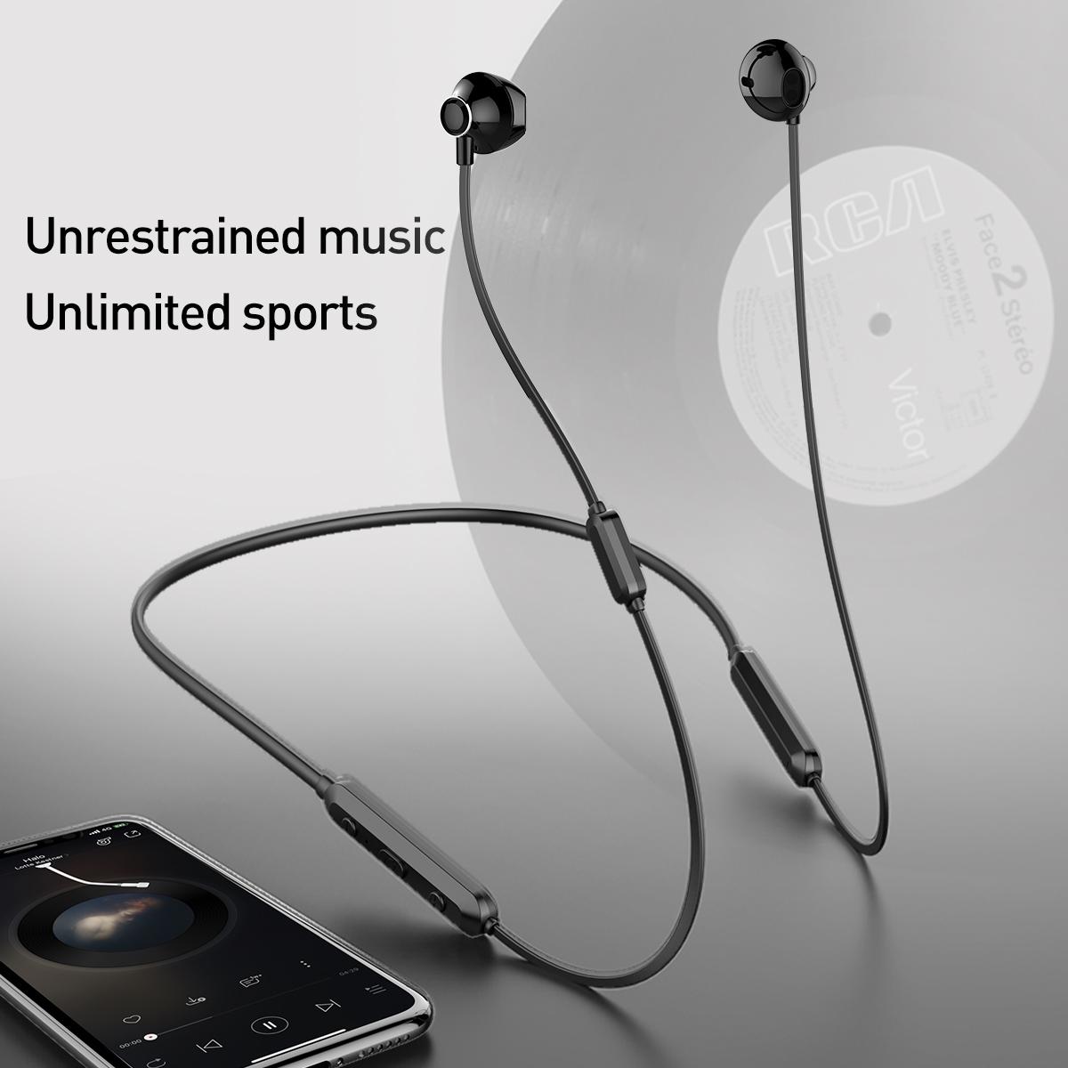 Tai nghe Bluetooth thể thao chống nước Baseus Encok Wireless Earphone S11A Sport (IPX5 Waterproof, Bluetooth 4.2 Neckband Earphone) - Hàng chính hãng