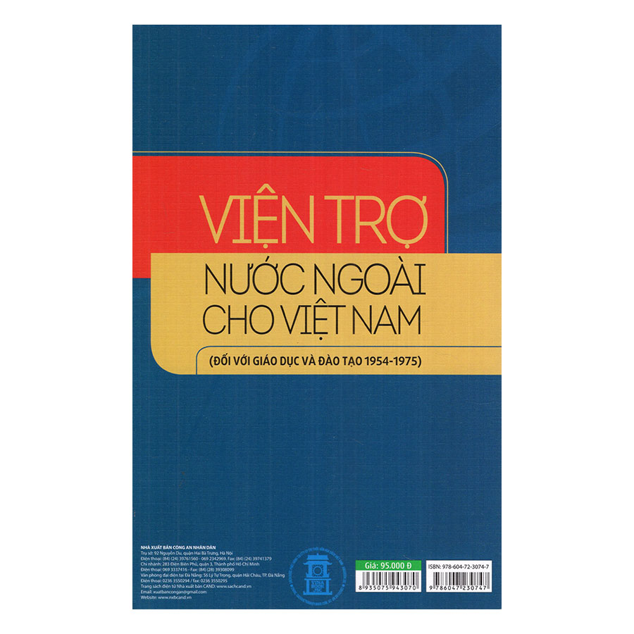 Viện Trợ Nước Ngoài Cho Việt Nam (Đối Với Giáo Dục Và Đào Tạo 1954 - 1975)