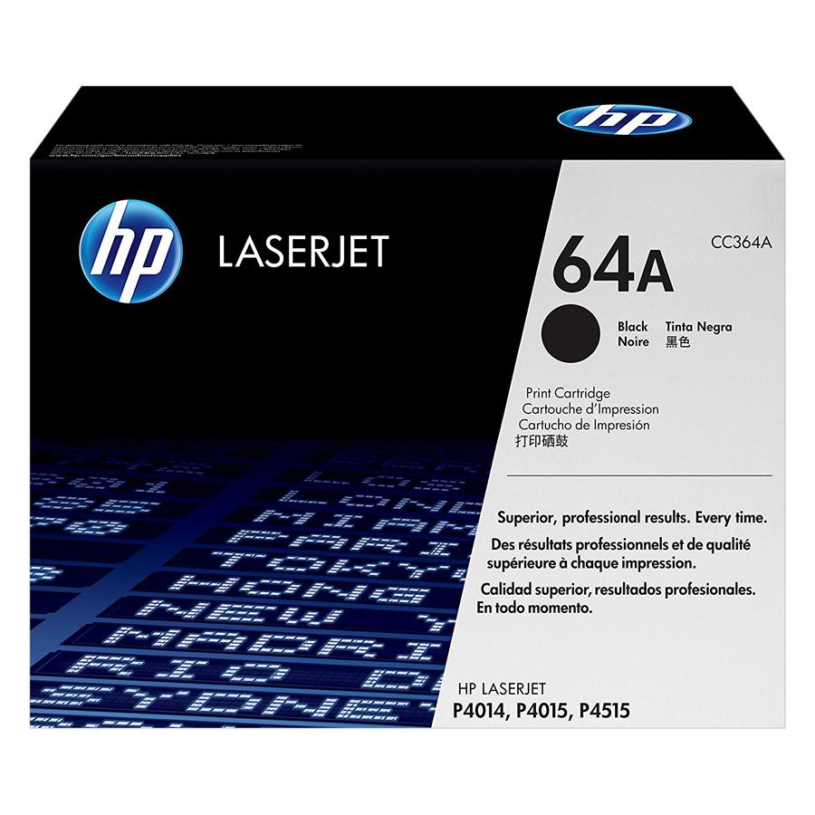 Mực In HP CC364A (HP 64A) Cho Máy In HP P4014n, HP P4515n, HP P4015x, HP P4014dn, HP P4515x, HP P4515tn, HP P4015dn, HP P4015tn - Hàng chính hãng