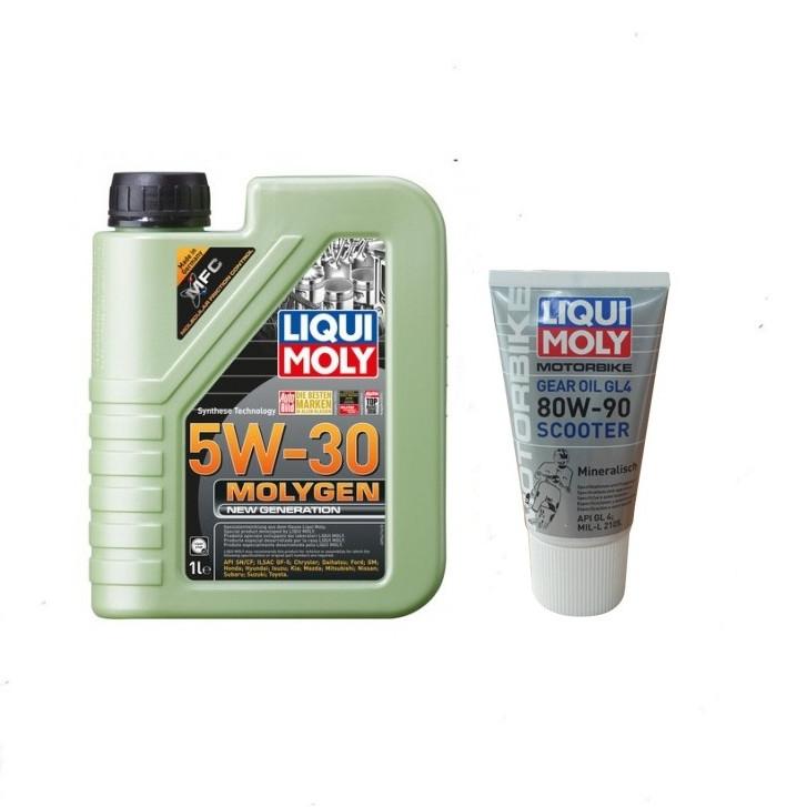 Compo Nhớt Liqui Moli 5W30 Moligen + Hộp số Liqui