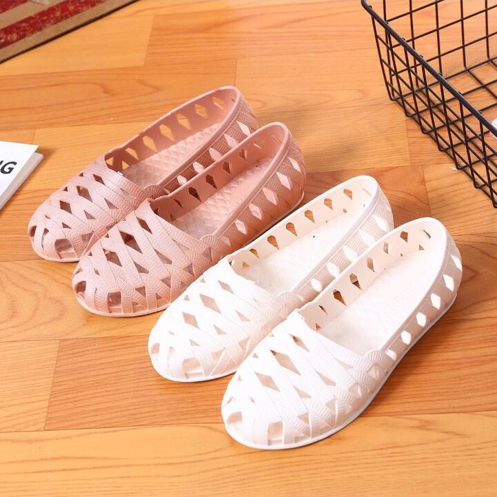 Giày nhựa đi mưa, đi nắng, không thấm nước cho nữ - MH65