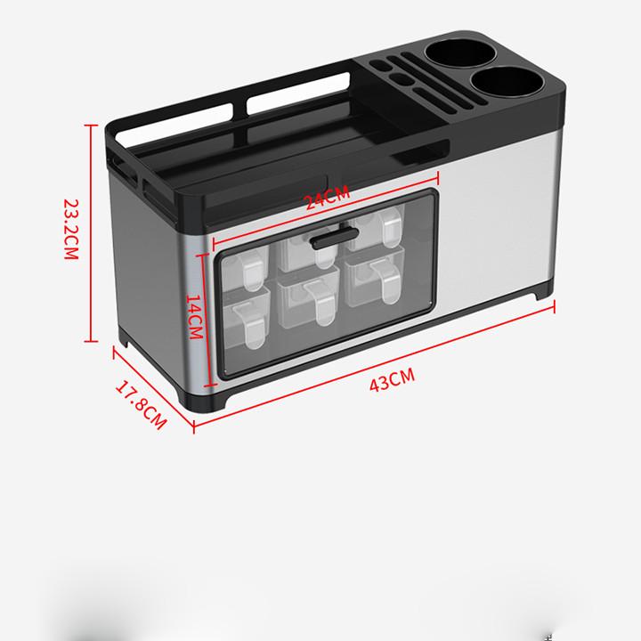 Tủ để đồ hộp gia vị tiện ích đa năng Kệ tủ để gia vị thông minh cao cấp DH-DGD2016