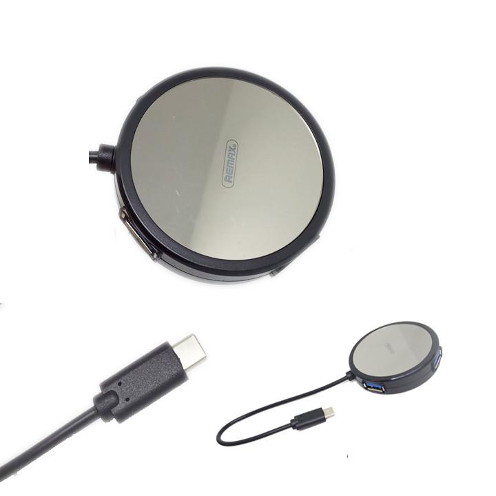 Hub chuyển đổi USB Type C ra 4 cổng USB tốc độ cao Remax RU-U20 - Hàng nhập khẩu