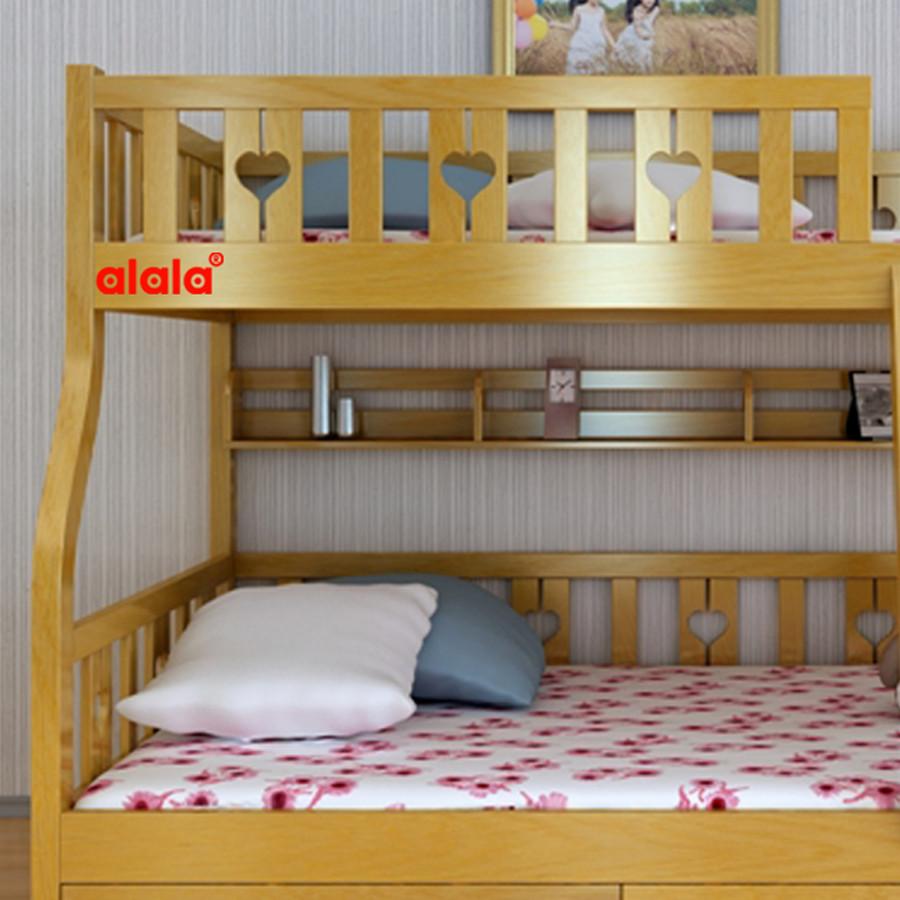 Giường Tầng ALALA 1m2, 1m4 - Thương Hiệu alala.vn - ALALA102
