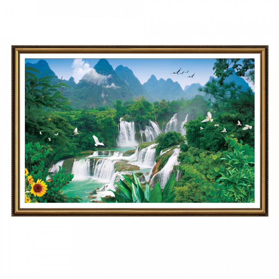 Tranh Nghệ Thuật Phong Thủy Q12K-ZTH(271)