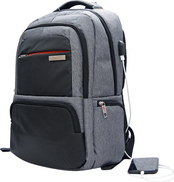 Balo Laptop Hasun HS 8621 46 x 33 cm - Xám