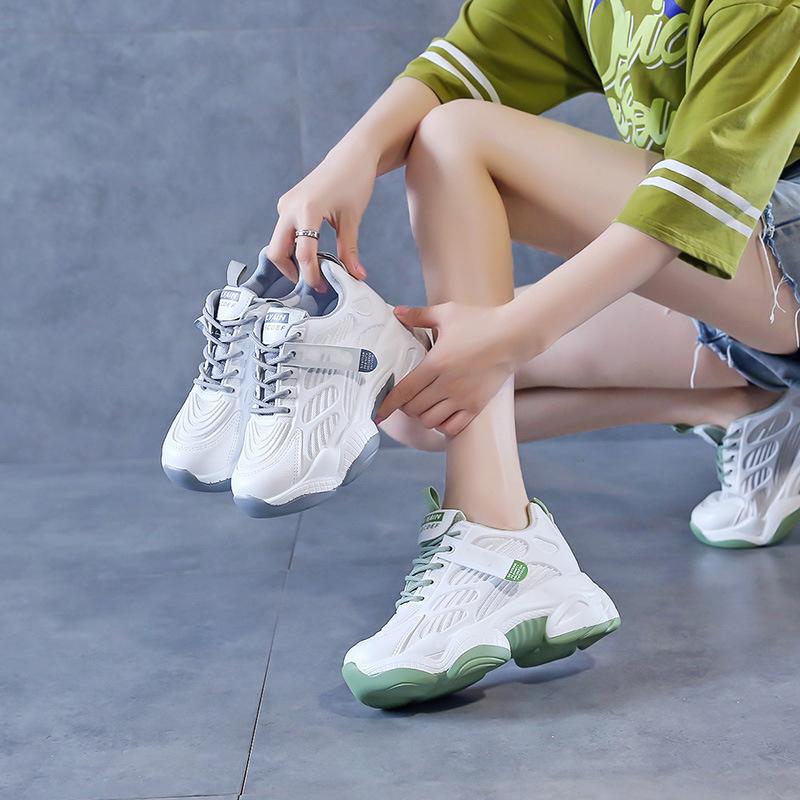 Giày Sneaker Tăng Chiều Cao Nữ - 2208