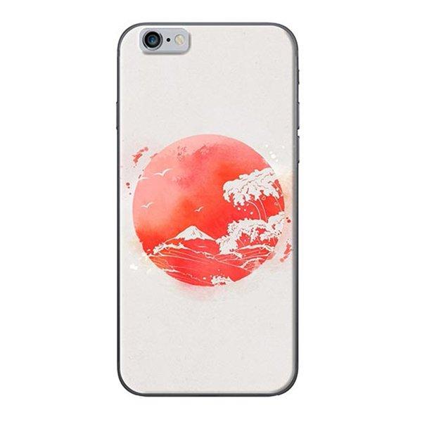 Ốp Lưng Dành Cho iPhone 6  6S Mặt Trăng Đỏ