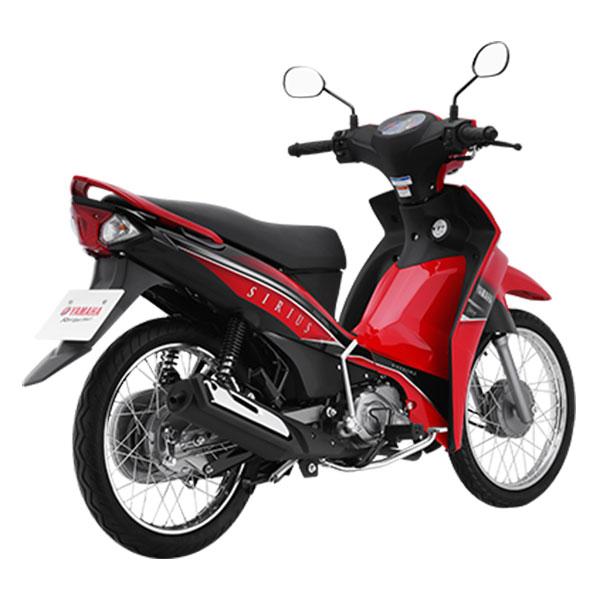 Xe Máy Yamaha Sirius Fi Phanh Cơ - Đỏ