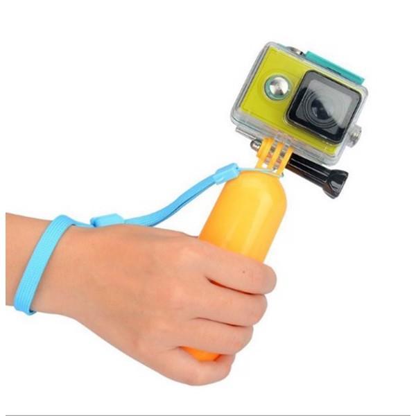 Phao nổi cầm tay sử dụng cho camera hành trình Gopro Hero 4, Hero 5 Black, Hero 6 Black, SJCam