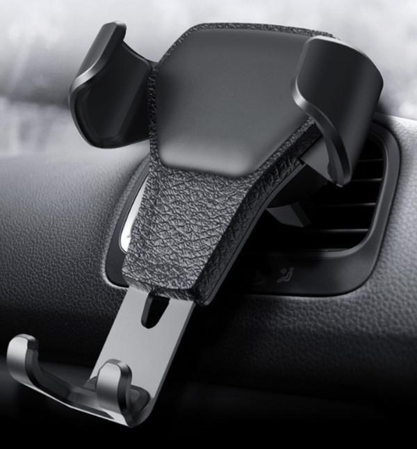 Giá đỡ, kẹp điện thoại cài khe cửa gió điều hòa xe hơi, ô tô