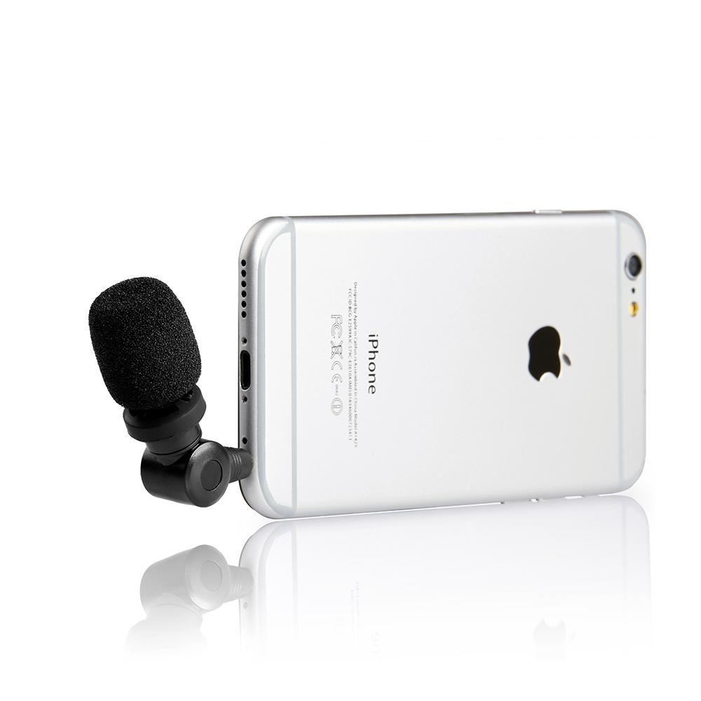 Micro Cho Điện Thoại Smartphone Saramonic SmartMic - Hàng Chính Hãng