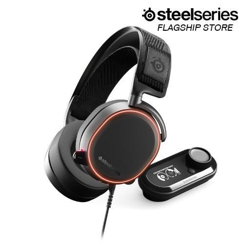 Tai nghe gaming có dây Steelseries Arctis Pro RGB + Game DAC 7.1 (Black/White) - Hàng Chính Hãng