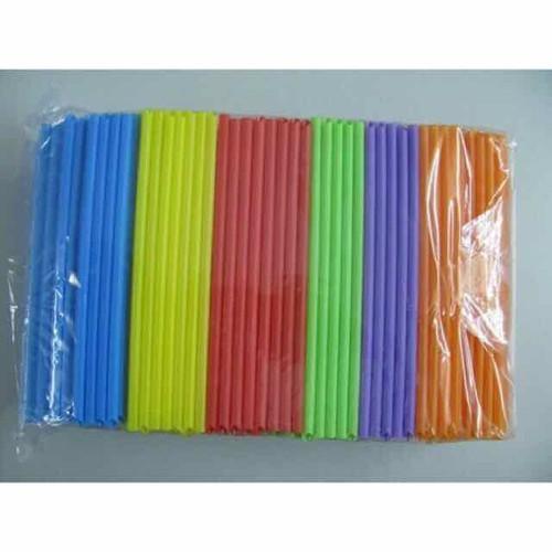 Ống hút trân châu nhiều màu, ống hút nước (gói 500gr)