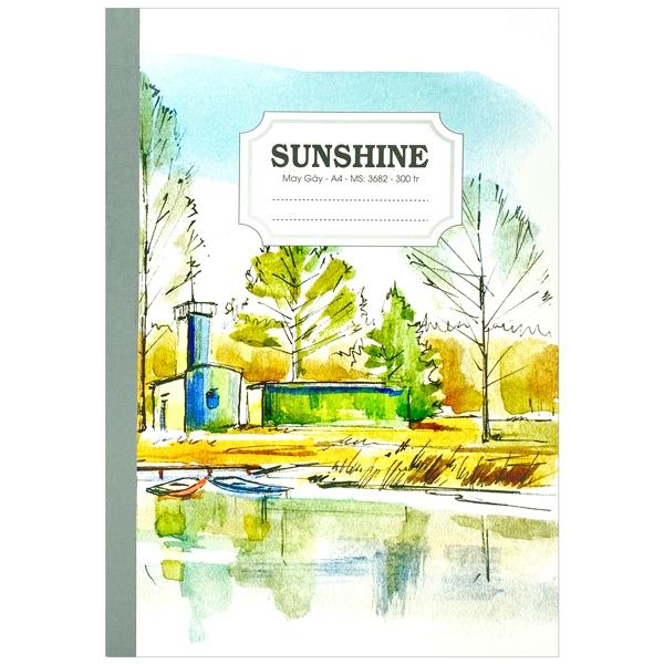 Sổ May Gáy Sunshine A4 300 Trang 3682 - Lake