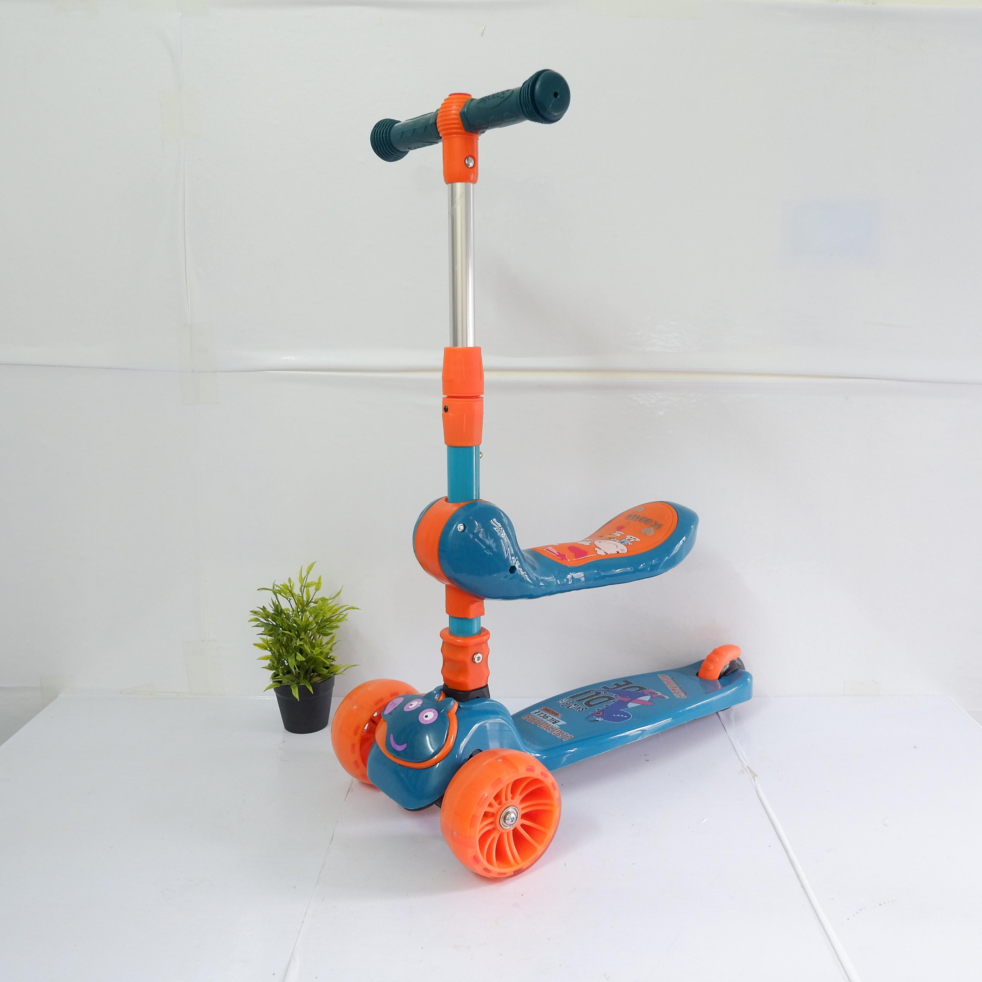 Xe Trượt Scooter Cao Cấp 3 Bánh Phát Sáng, Phát Nhạc - Hàng chính hãng