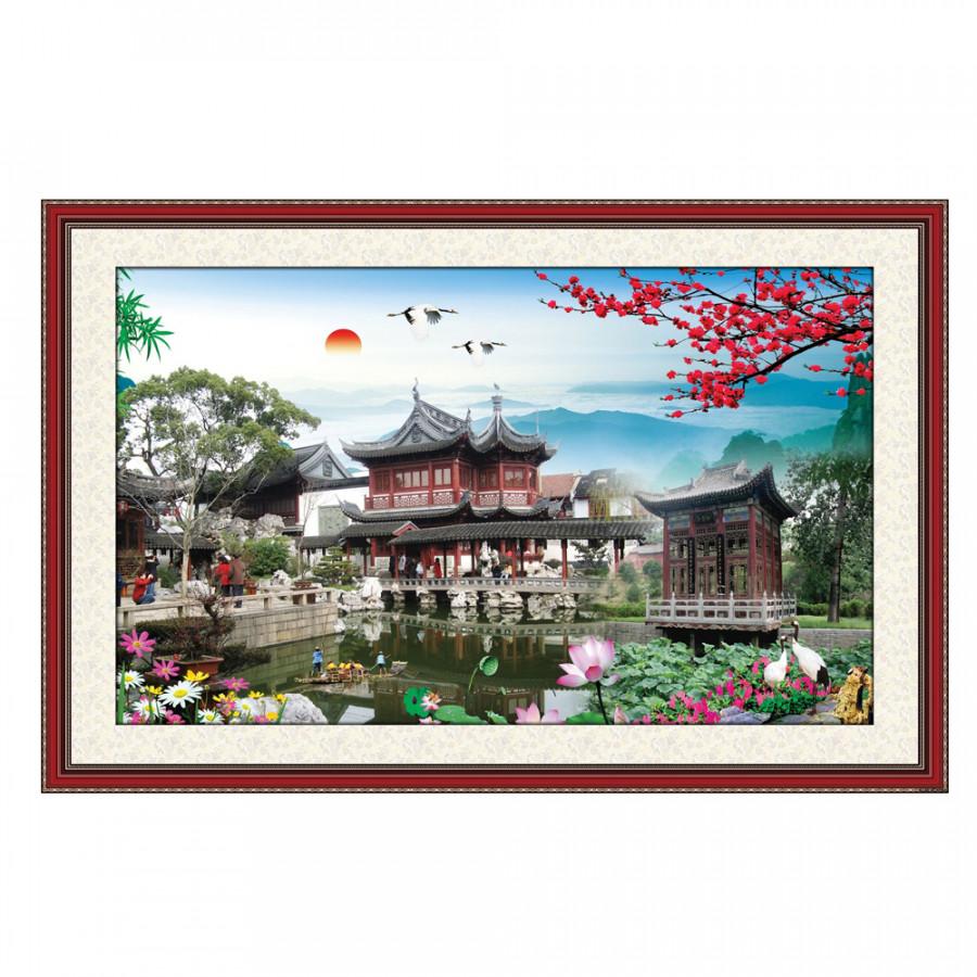 Tranh Phong Thủy Phòng Khách Q12K-ZTH(91)