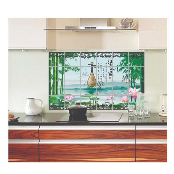 Decal Dán Bếp Cây Đàn DB30 (60 x 90 cm)