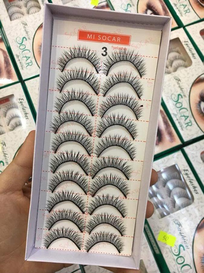Lông mi giả Eyelashes Fashion (Dày mi 03)