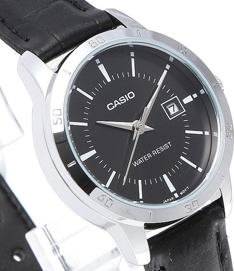 Đồng hồ nữ dây da Casio LTP-V004L-1AUDF