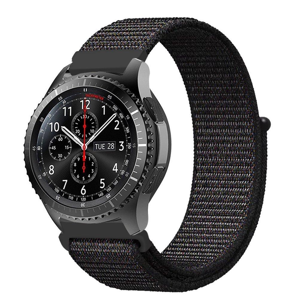 Dây đồng hồ 22mm, dây nylon sport loop dành cho đồng hồ Galaxy Watch 46mm, Gear S3