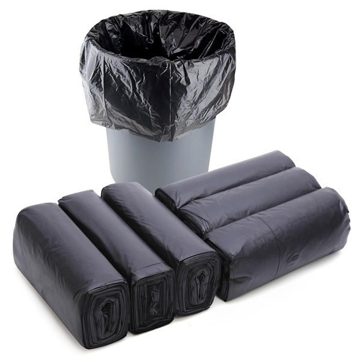 Túi đựng rác màu đen 1kg size 55 x 65 cm