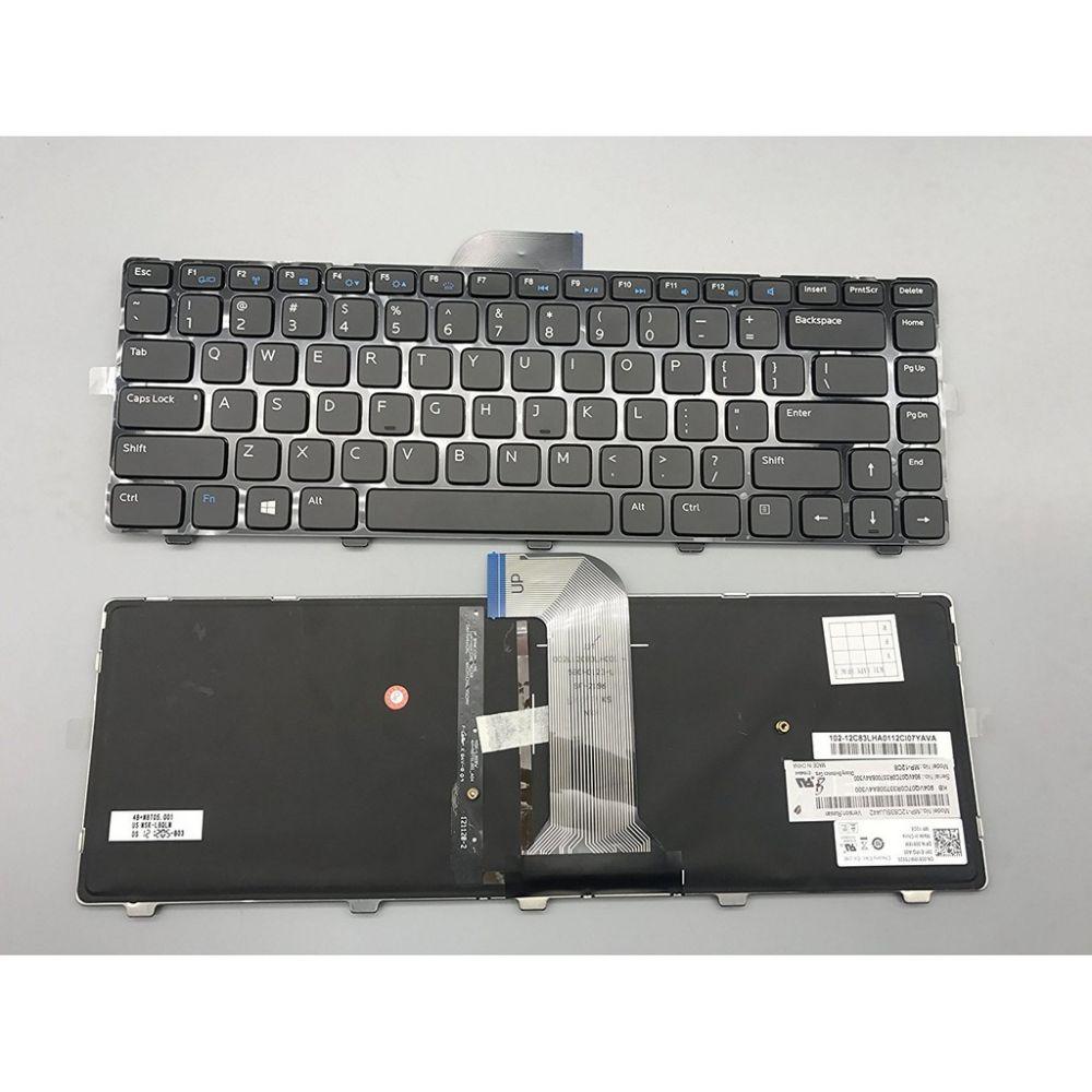 Bàn phím thay thế dành cho laptop Dell Vostro 2421, V2421 có đèn nền