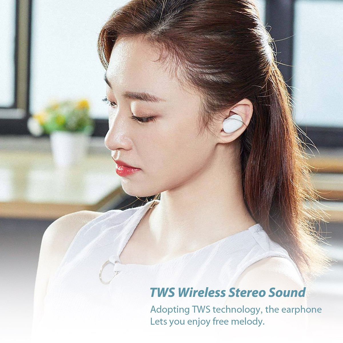 Tai Nghe True Wireless Xiaomi Redmi Airdots 5.0 - Hàng Chính Hãng