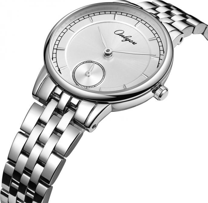 Đồng hồ Onlyou Nữ 83030LA Dây thép không gỉ 30mm