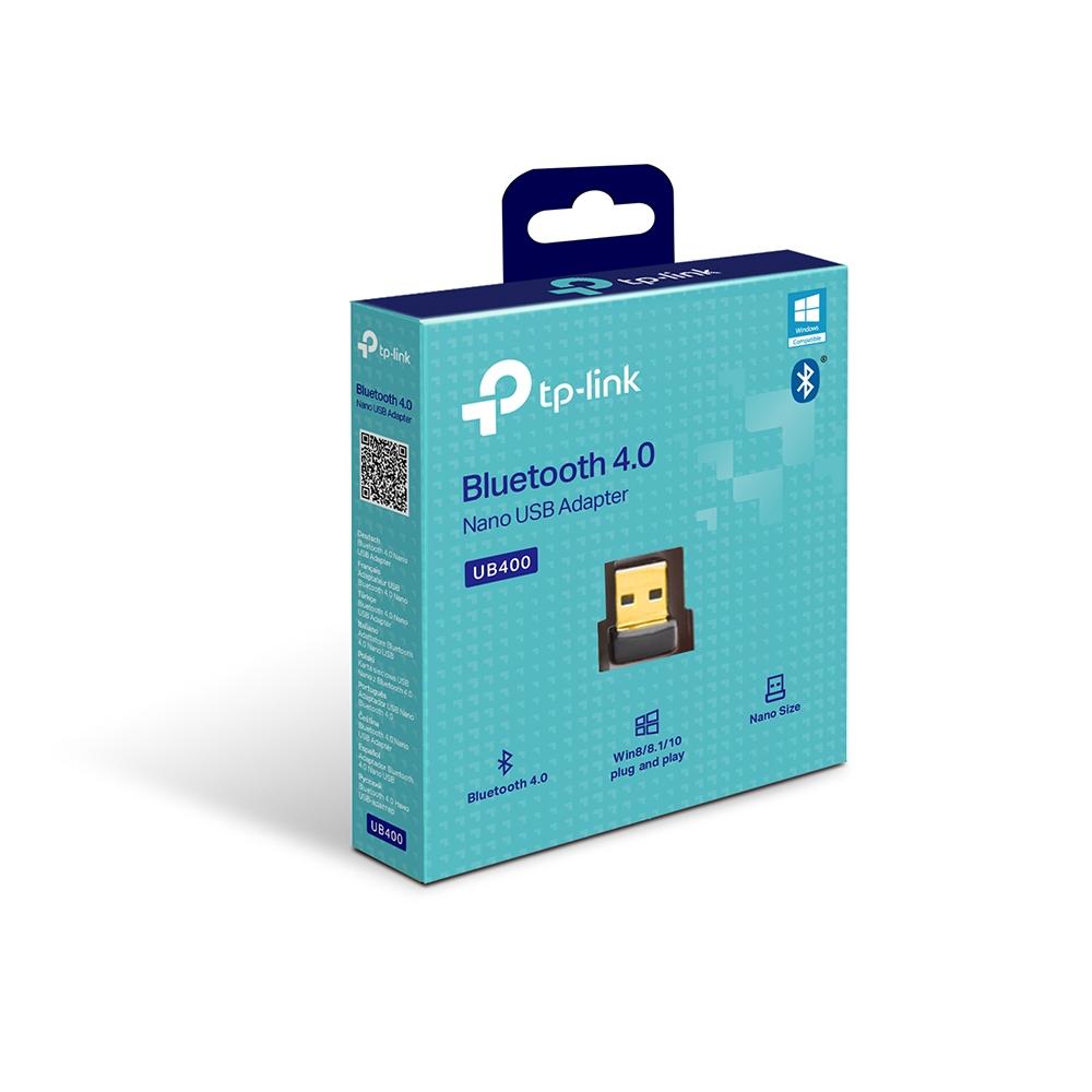 Bộ Thu Phát Bluetooth TP-Link UB400 USB Nano Bluetooth 4.0 - Hàng Chính Hãng