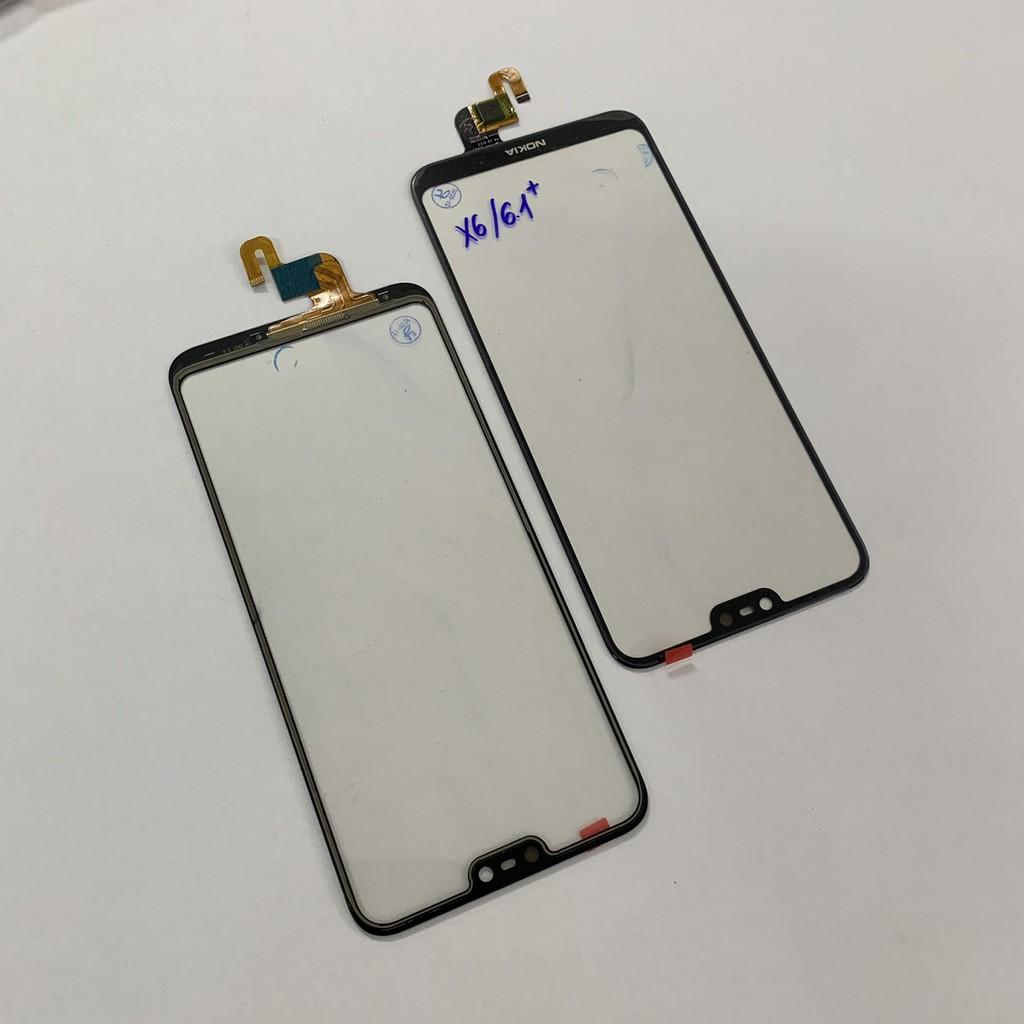 Cảm ứng ép màn hình cho Nokia X6/6.1 Plus ĐEN