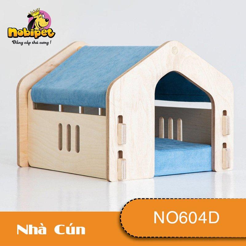 Nhà Ngủ Gỗ Lắp Ráp Sky Cho Chó Mèo NO604D(nhiều màu)