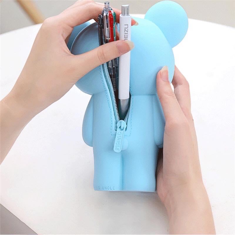 Hộp bút silicon gấu Koya