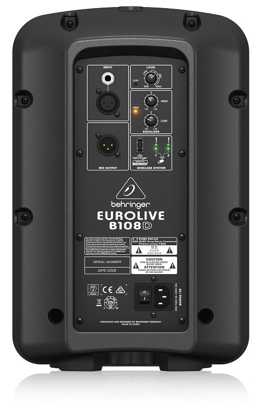 LOA ACTIVE BEHRINGER EUROLIVE B108D- Hàng chính hãng