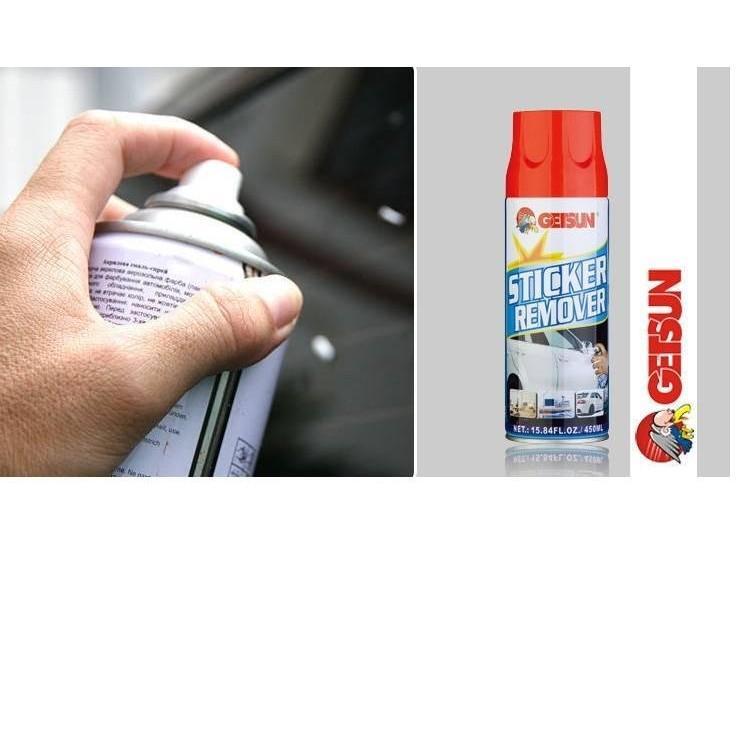 Chai xịt tẩy keo băng dính nhựa đường Getsun TI283
