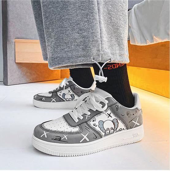 Giày Thể Thao Giày Sneaker ONEZ Nam ZG1, Giày Thể Thao Bata Nam Hàn Quốc Phối Cực Chất Khi Đi Chơi, Đi Học