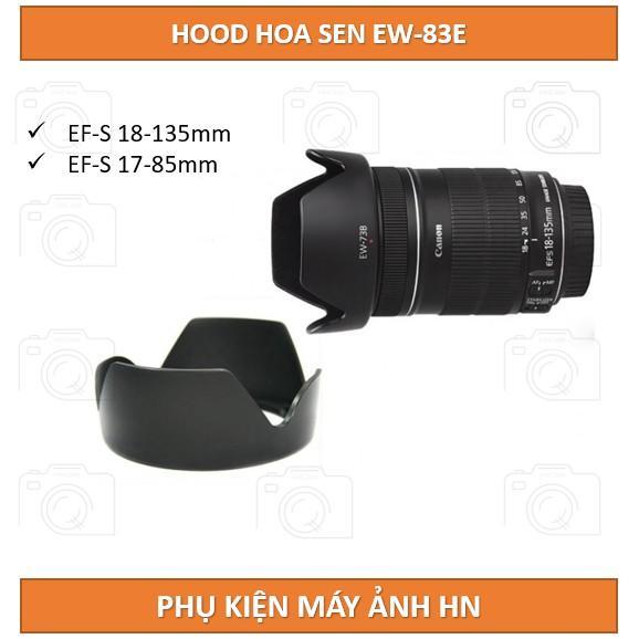 Hood loa che nắng EW-73B dành cho ống kính Canon EF-S 18-135mm f/3.5-5.6 IS STM