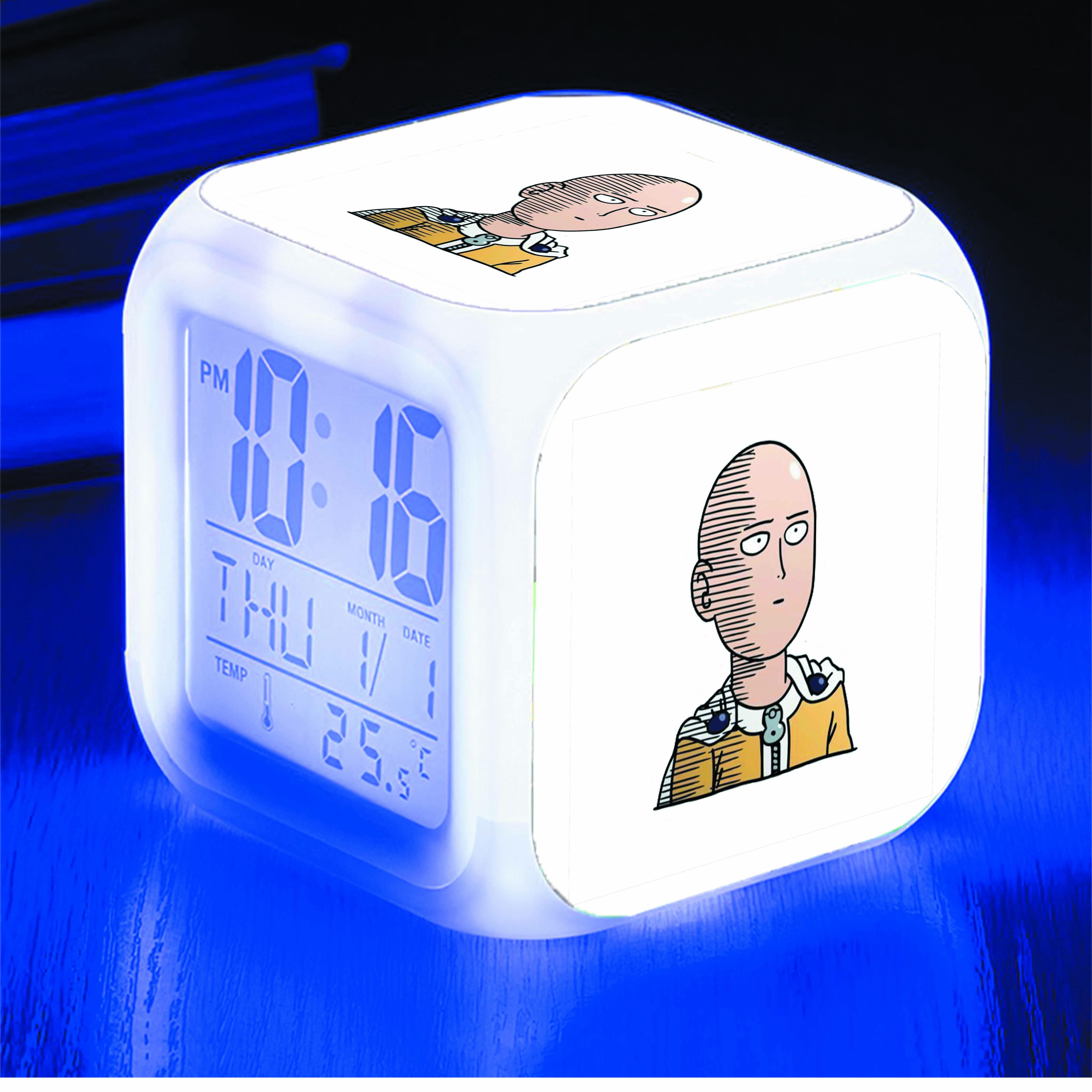 Đồng hồ báo thức để bàn IN HÌNH One-Punch Man anime