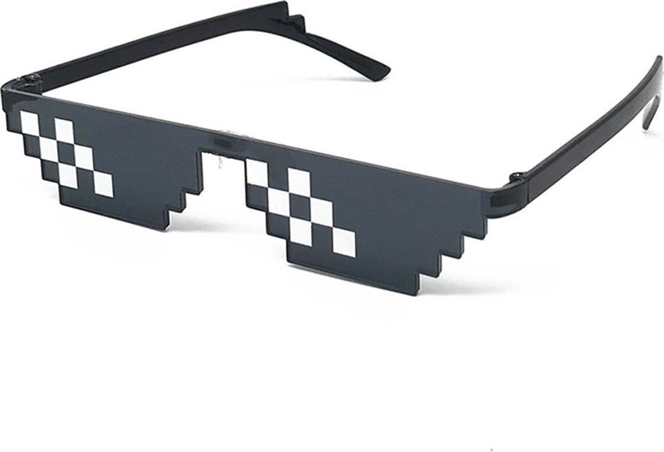 Combo 2 Kính Mắt Thời Trang Thug Life - Kính Mắt Thug Life Kính Minecraft 6 Chấm Siêu Ngầu