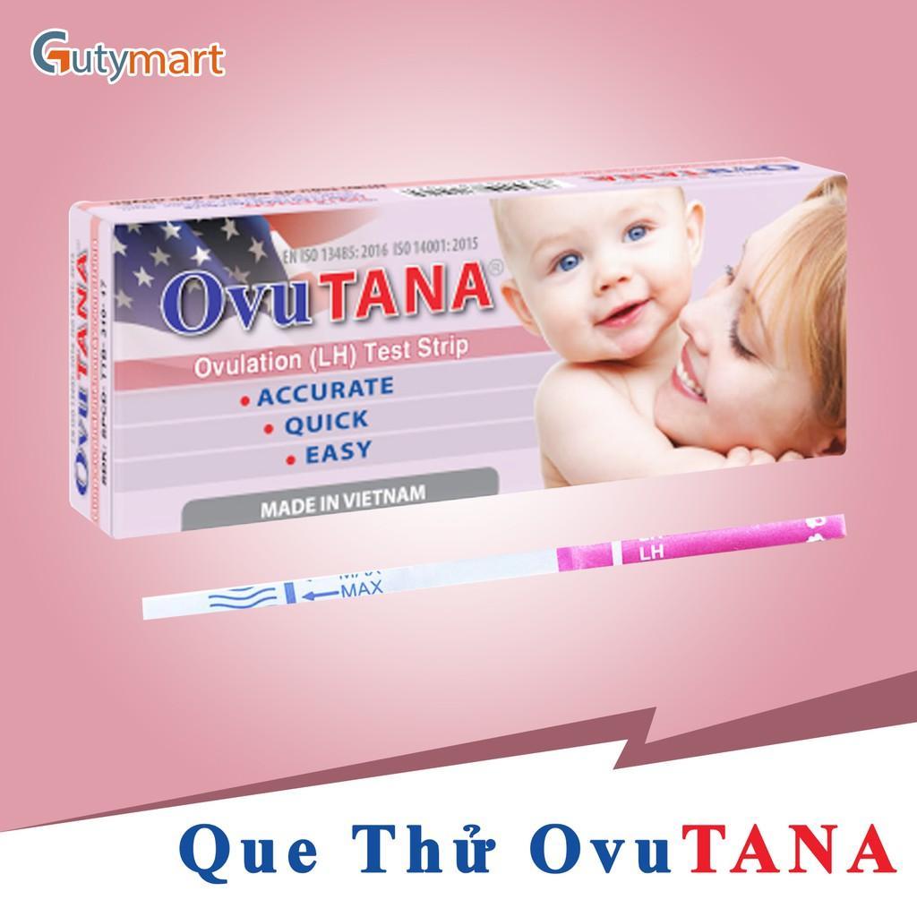 Dụng cụ phát hiện ngày rụng trứng Ovutana – Hộp 1 que