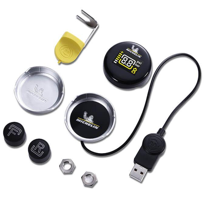 Hệ thống cảm biến đo áp suất lốp cho xe phân khối lớn Michelin 5209
