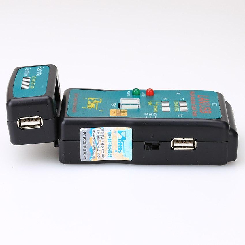 Thiết bị test cáp mạng, Hộp kiểm tra dây mạng đa năng CT-168 AZONE