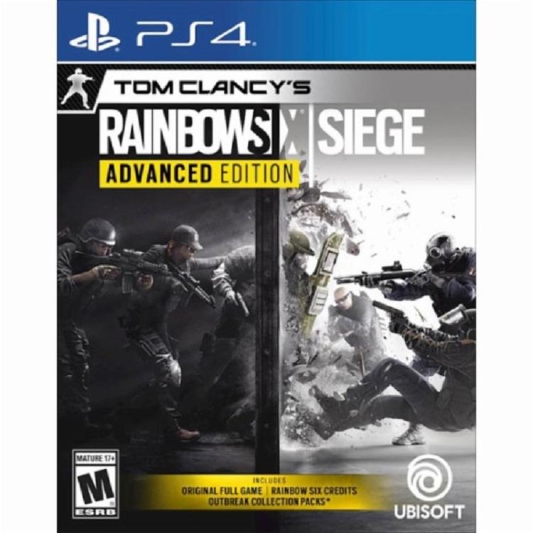 Đĩa Game Ps4: Tom Clancy's Rainbow Six Siege - Hàng Nhập khẩu
