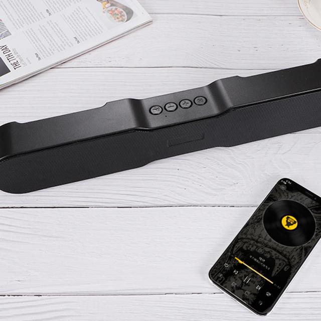 Loa Bluetooth Soundbar 5.0 T13 Thiết Kế Mới Lạ Trẻ Trung Năng Động - Âm Thanh Siêu Trầm, Chân Thực