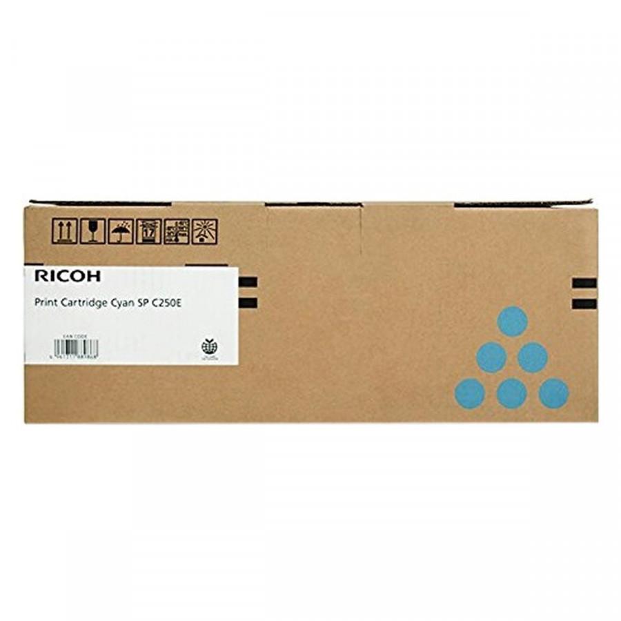 Mực Máy In Màu Ricoh SP C250/C260/C261 - Cartridge 407548 Màu Xanh ( Hàng Chính hãng )
