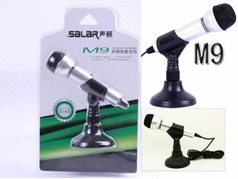 Microphone M9 - Chân Đế Có Dây (Kết Nối Chân 3.5mm)