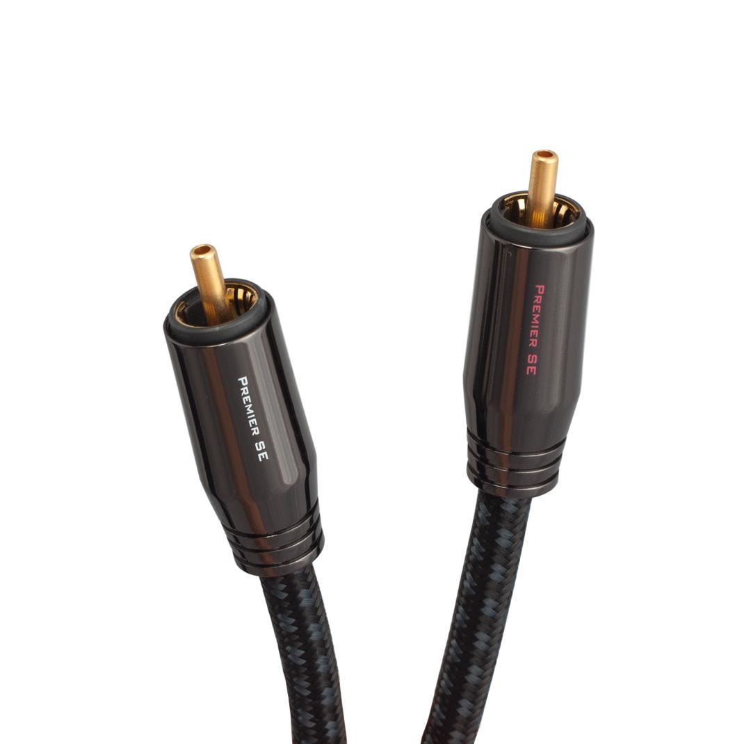 Dây RCA Pangea Premier Stereo 1m - Hàng nhập khẩu
