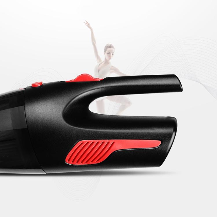 Máy Hút Bụi Cầm Tay Ô Tô Mini 120w - Đen đỏ