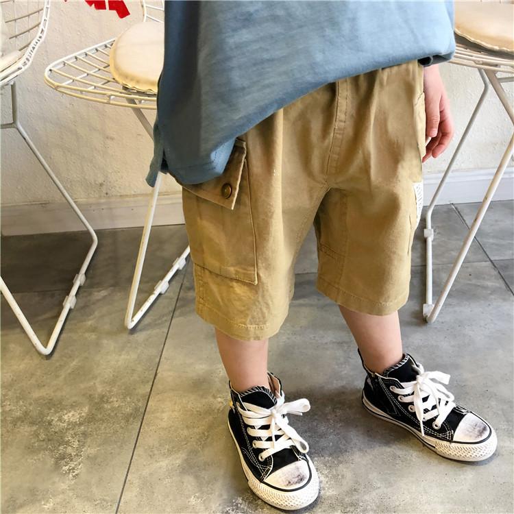 Quần Ngố Kaki Cho Bé Trai Bé Gái Đi Học Đi Chơi Size 8-25kg KidsOneStore QS3